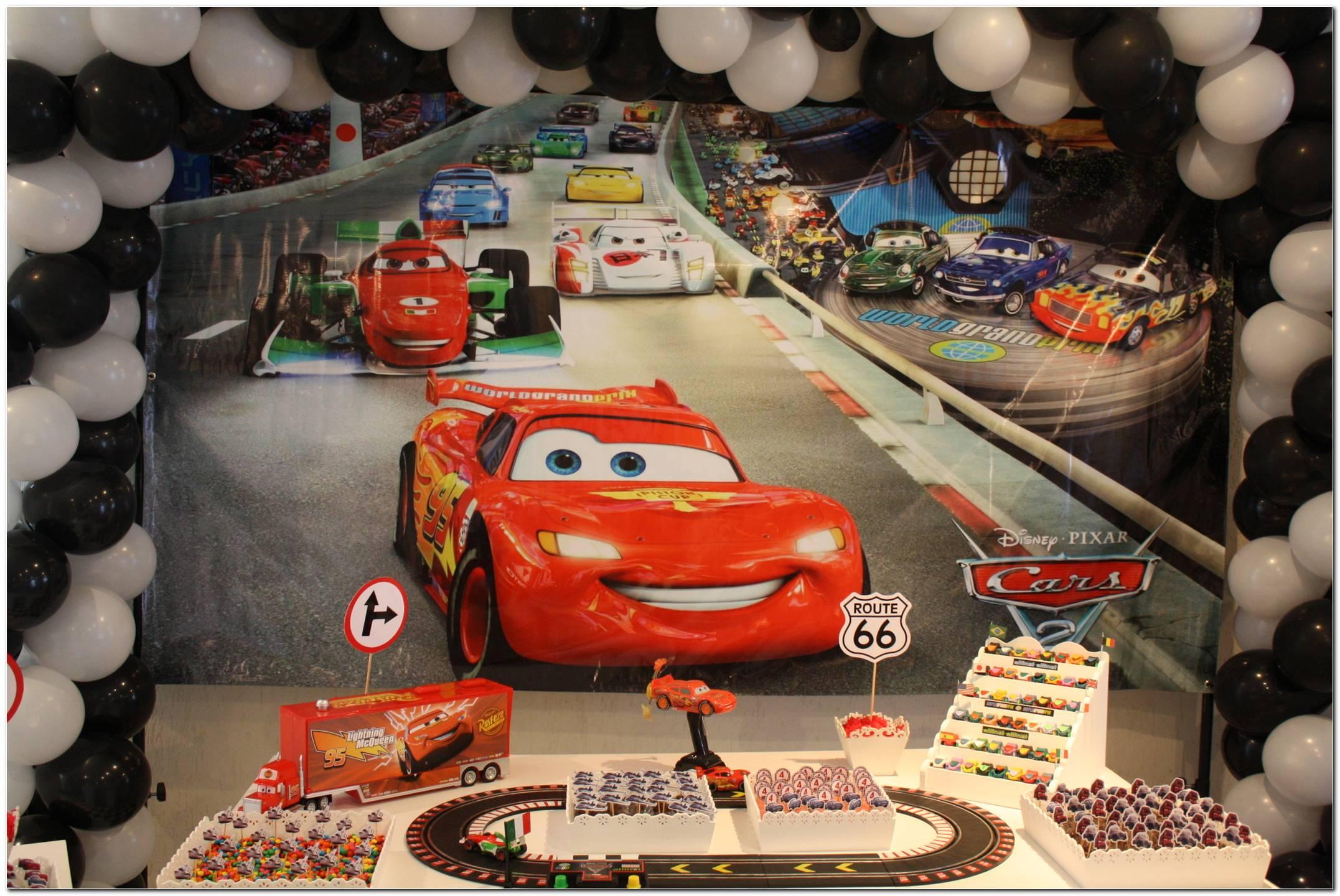 Festa De Aniversário Dos Carros