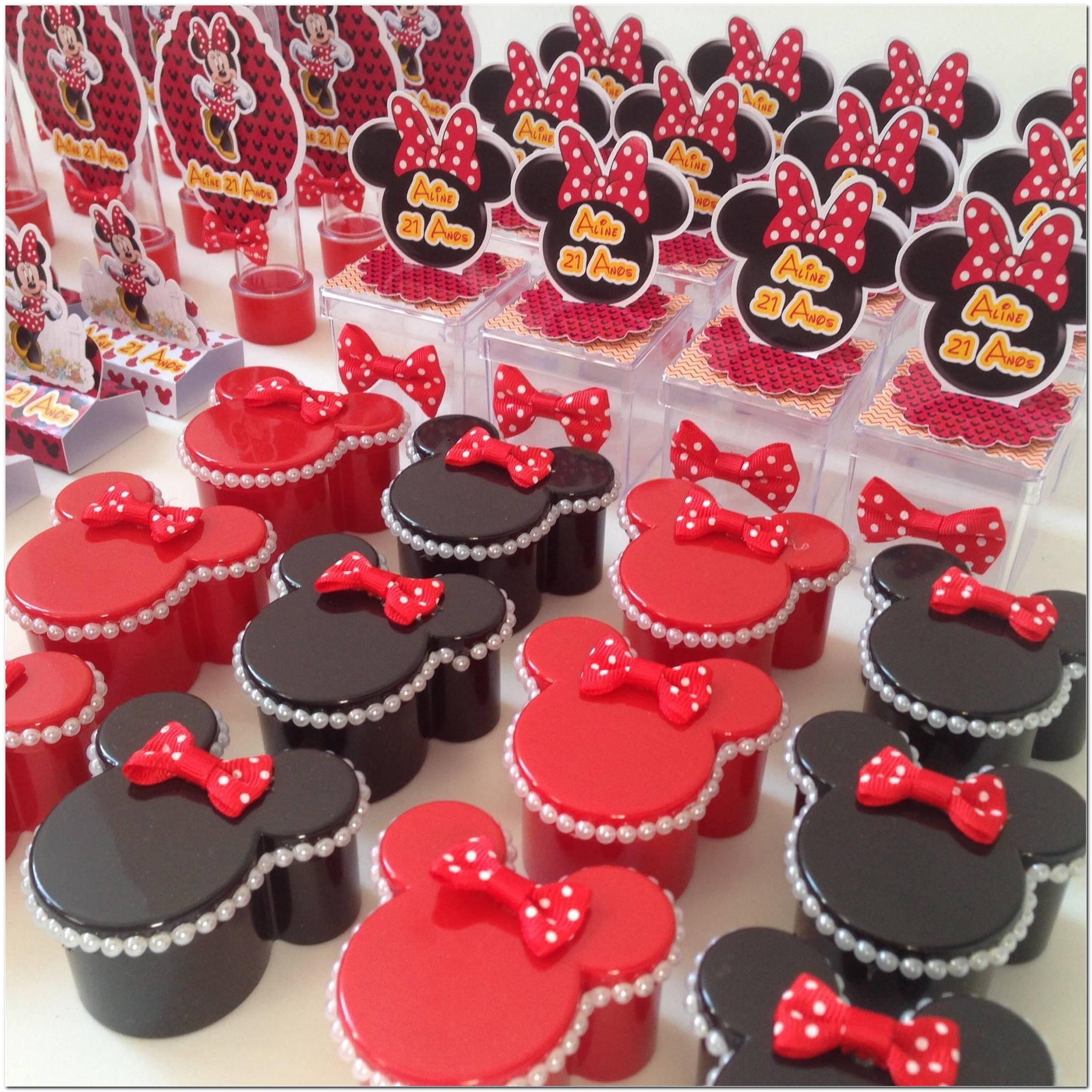 Festa De Aniversário Minnie Vermelha