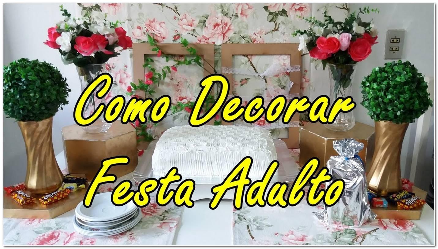 Festa De Aniversario Decoração