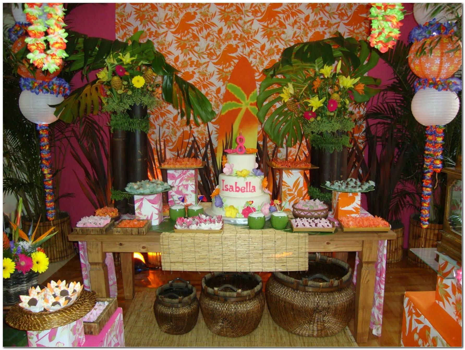 Festa Do Havai Decoração