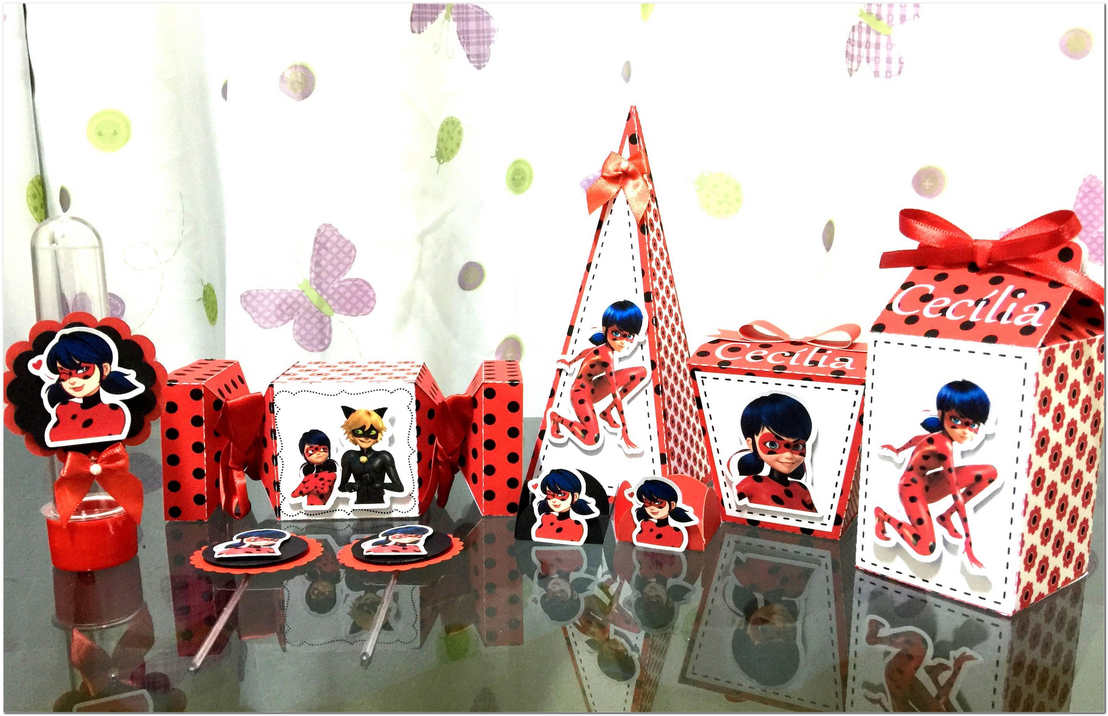 Festa Ladybug 60 Ideias De Decoração Para Usar Com O Tema