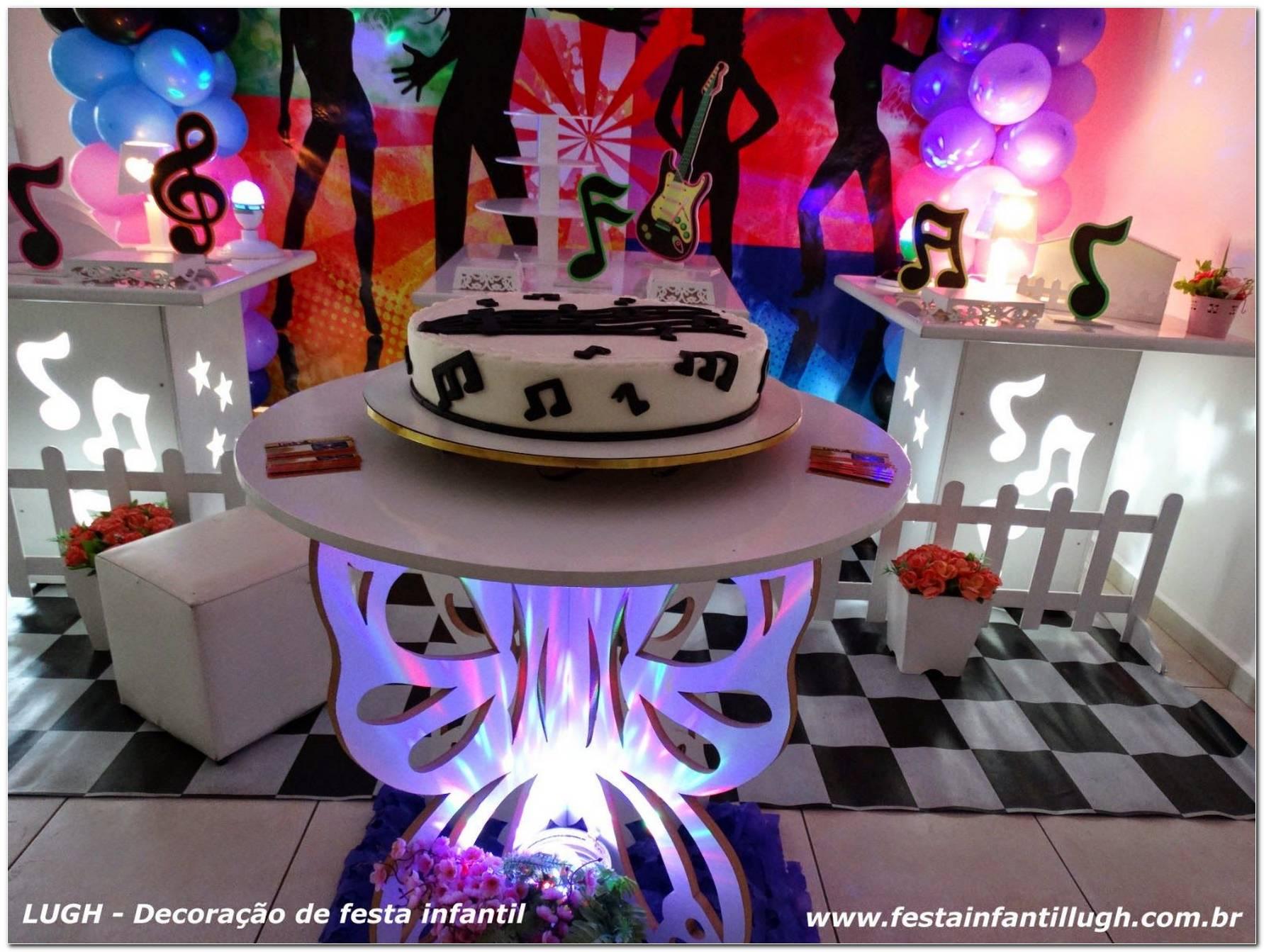 Festa Tema Discoteca Infantil