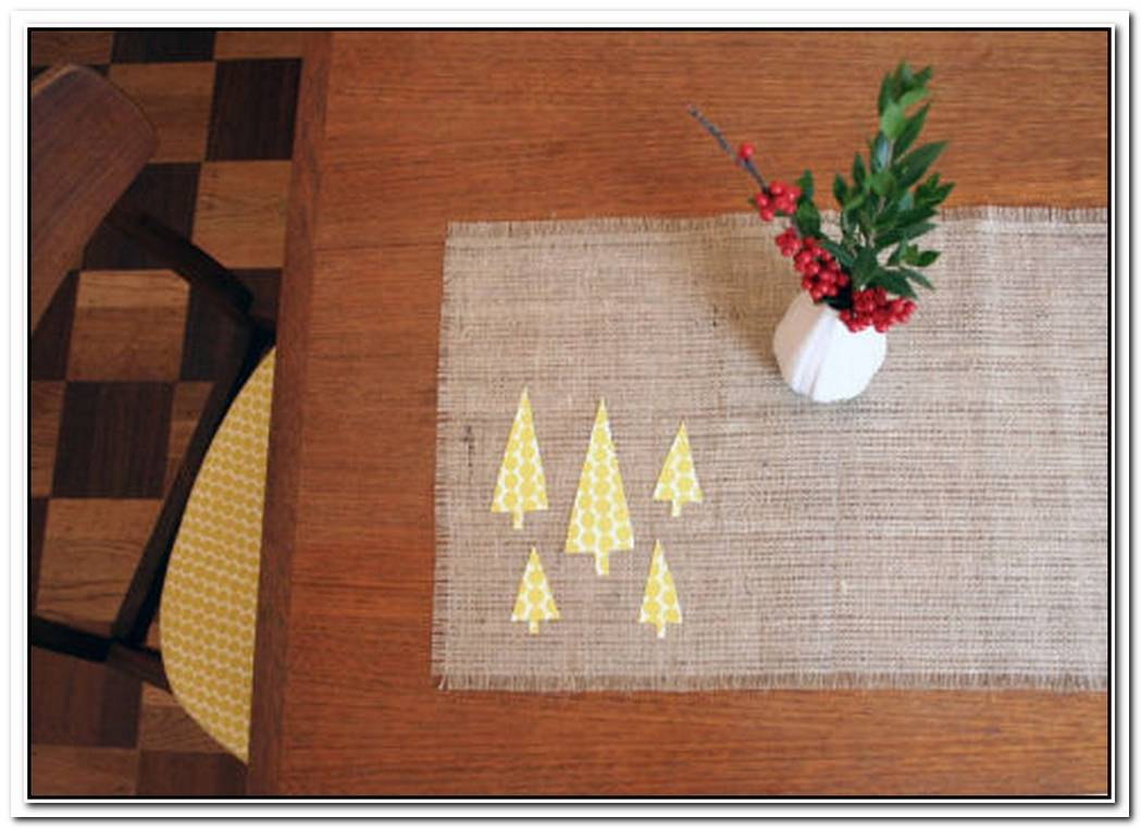 Festive DIY Table Runners