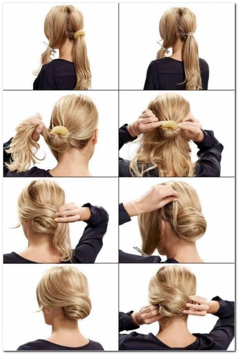 Festliche Frisuren FüR Lange Haare Selber Machen