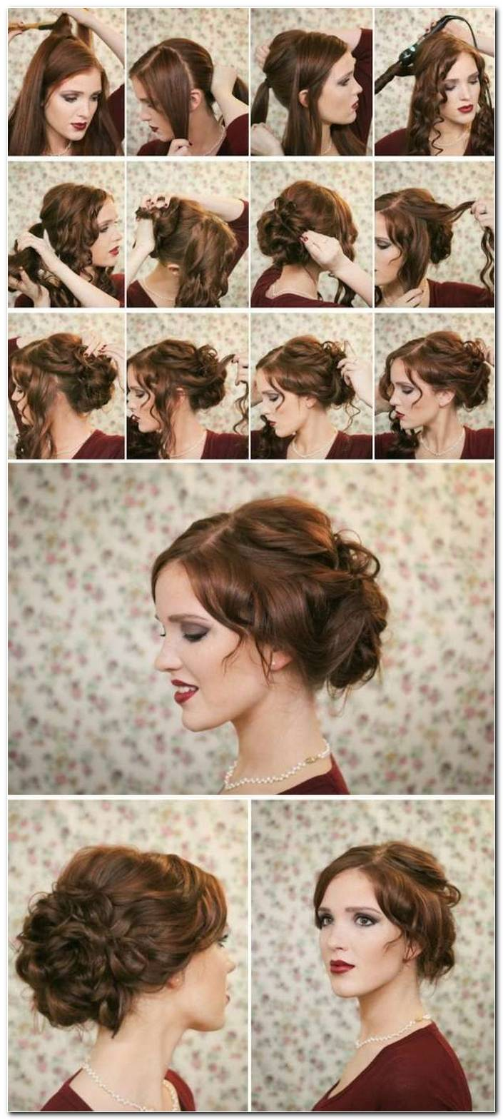 Festliche Frisuren FüR Schulterlanges Haar Selber Machen