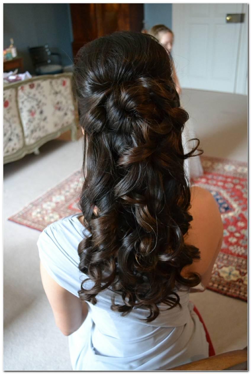 Festliche Frisuren Halboffen Locken