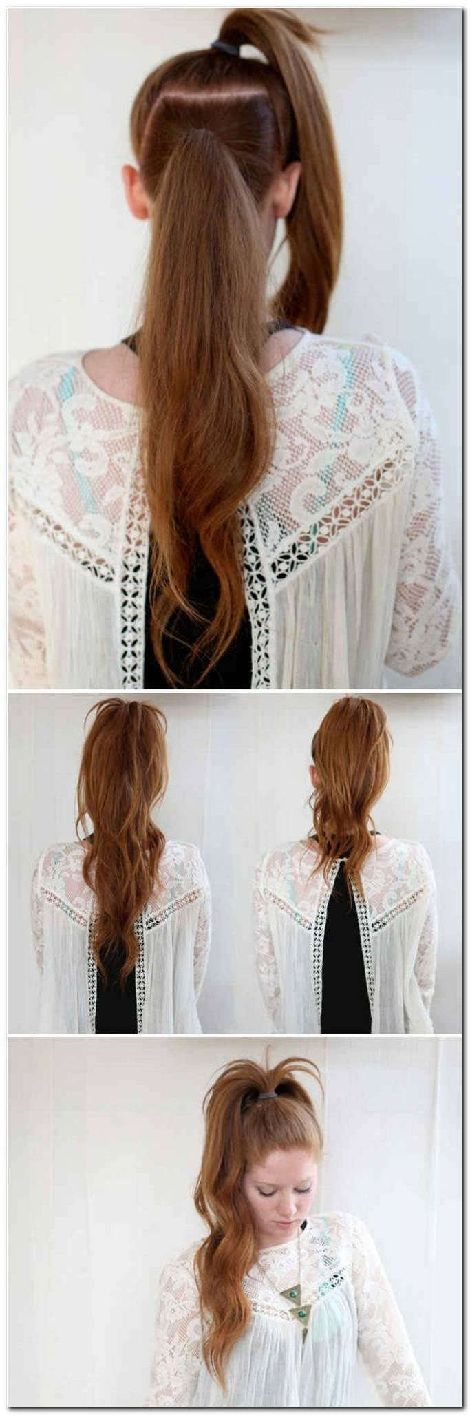 Flechtfrisuren Sehr Lange Haare