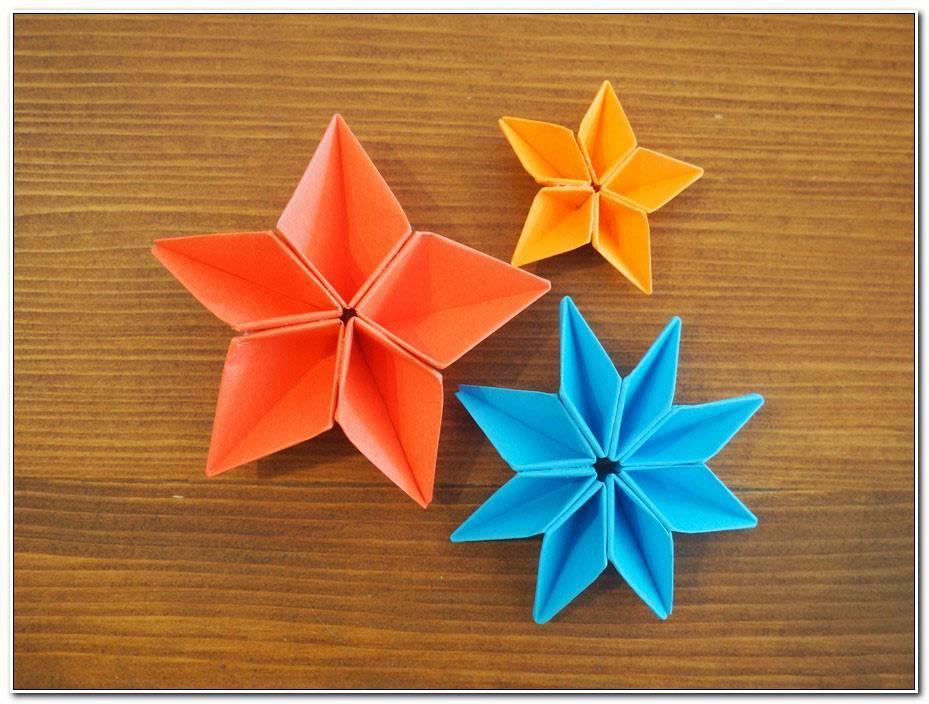 Fleur Origami Facile Rapide