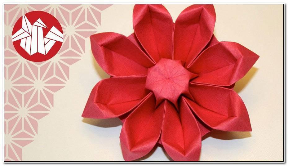 Fleur Origami Rose