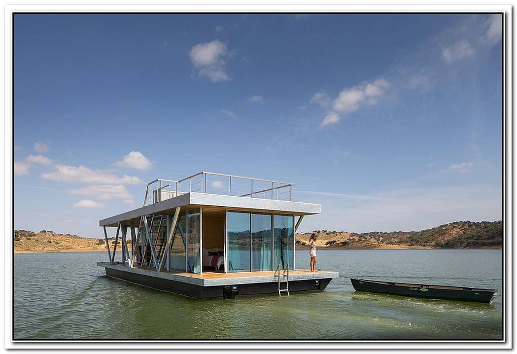 FloatwingModularPrefabricated Houseboat Offers An Exciting Escape