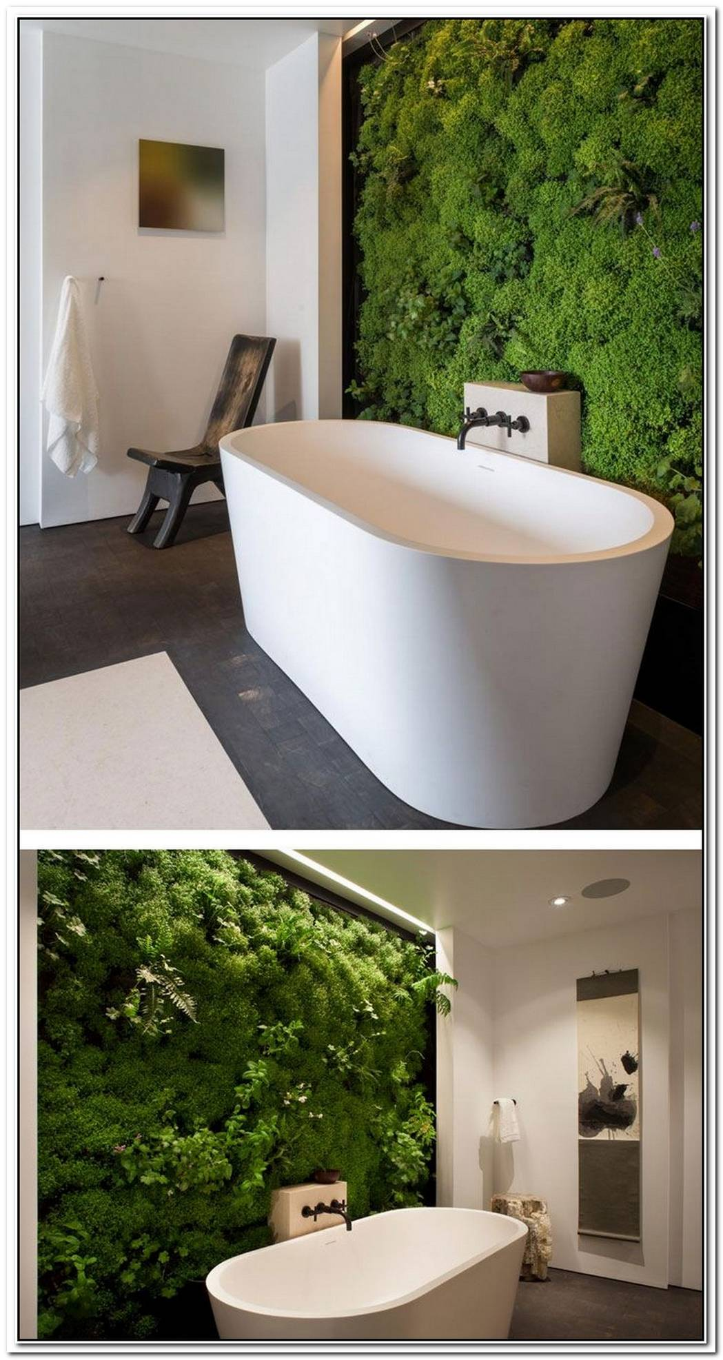 Forest Interior Bathroom