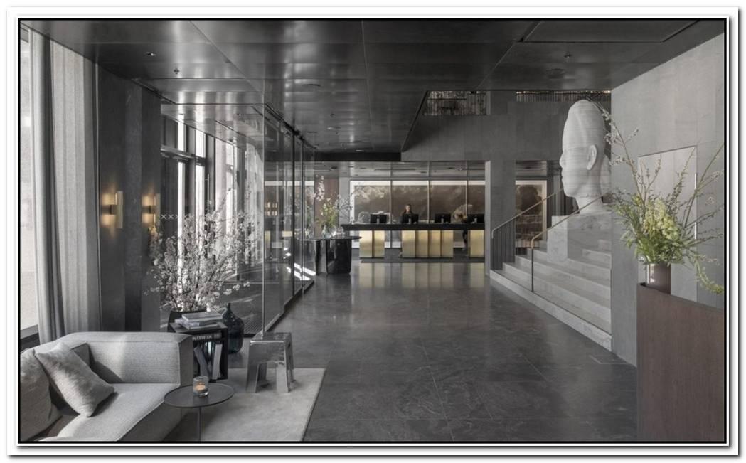 Former Brutalist Bank Building Transformed Into Hip Stockholm Hotel