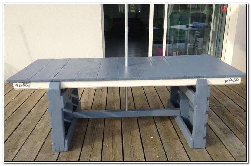 Frais Fabriquer Une Table De Jardin