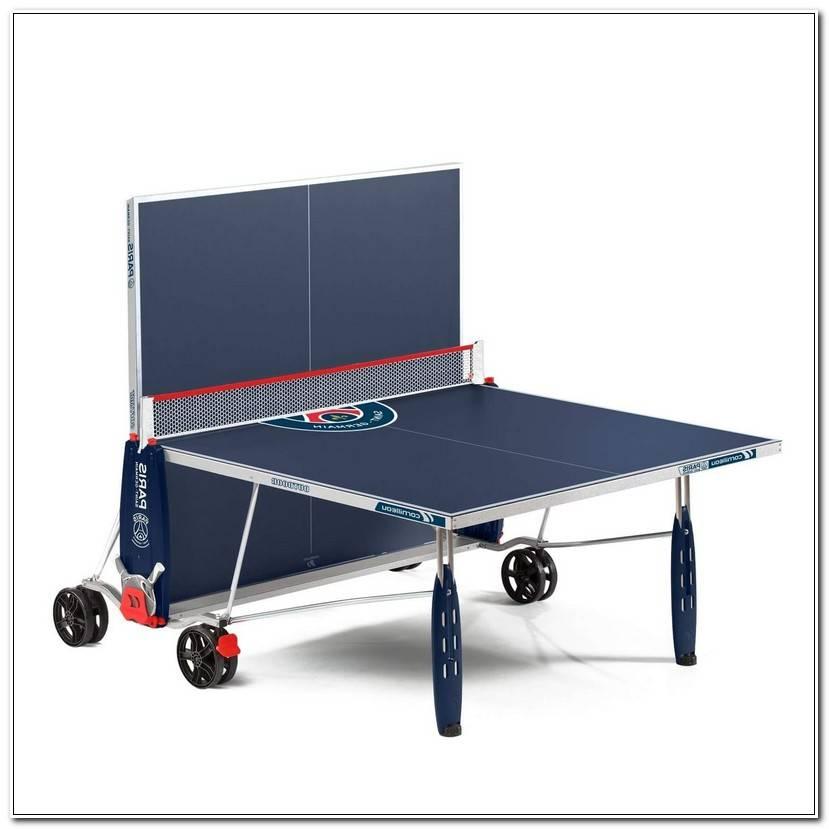 Frais Fabriquer Une Table De Ping Pong
