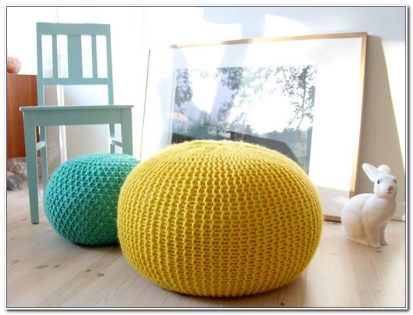 Frais Pouf Crochet