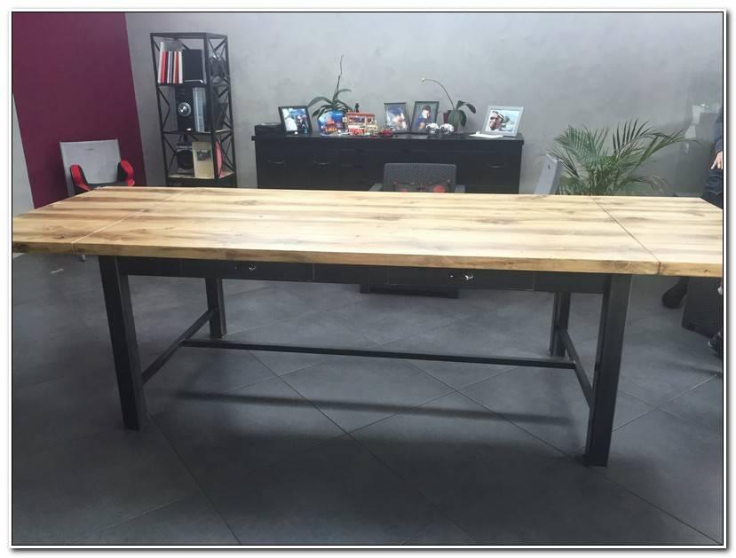 Frais Table A Manger Style Industriel