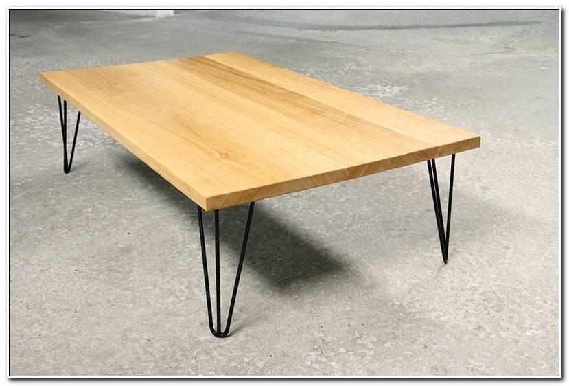 Frais Table Bois Pied Metal