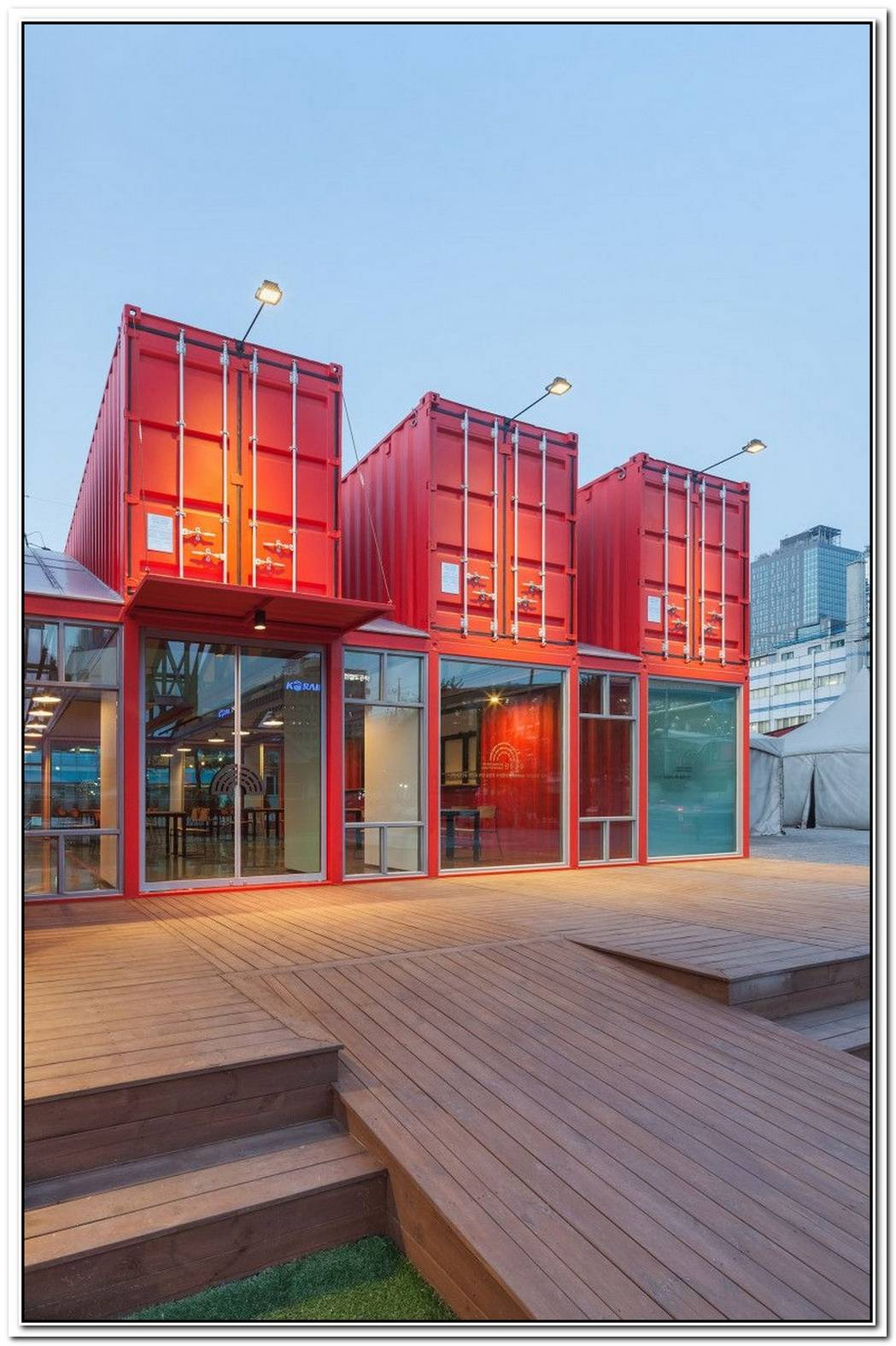 Freight Containers Turned Into An Architectural Masterpiece In Berlin