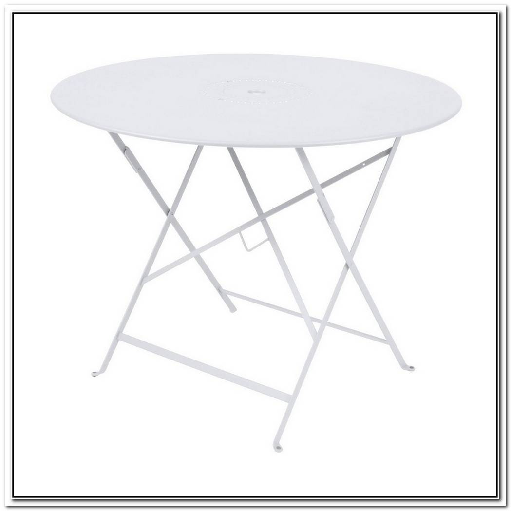 French Floreal Folding Table