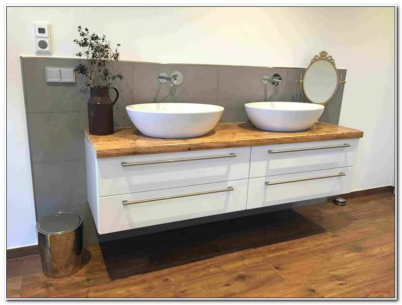 Fresh Badezimmer Unterschrank Holz