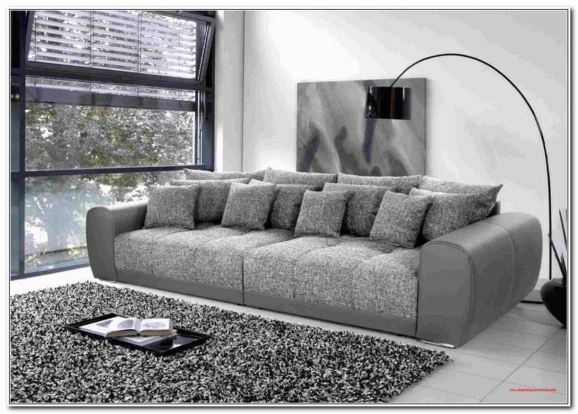 Fresh Big Sofa Mit Hocker