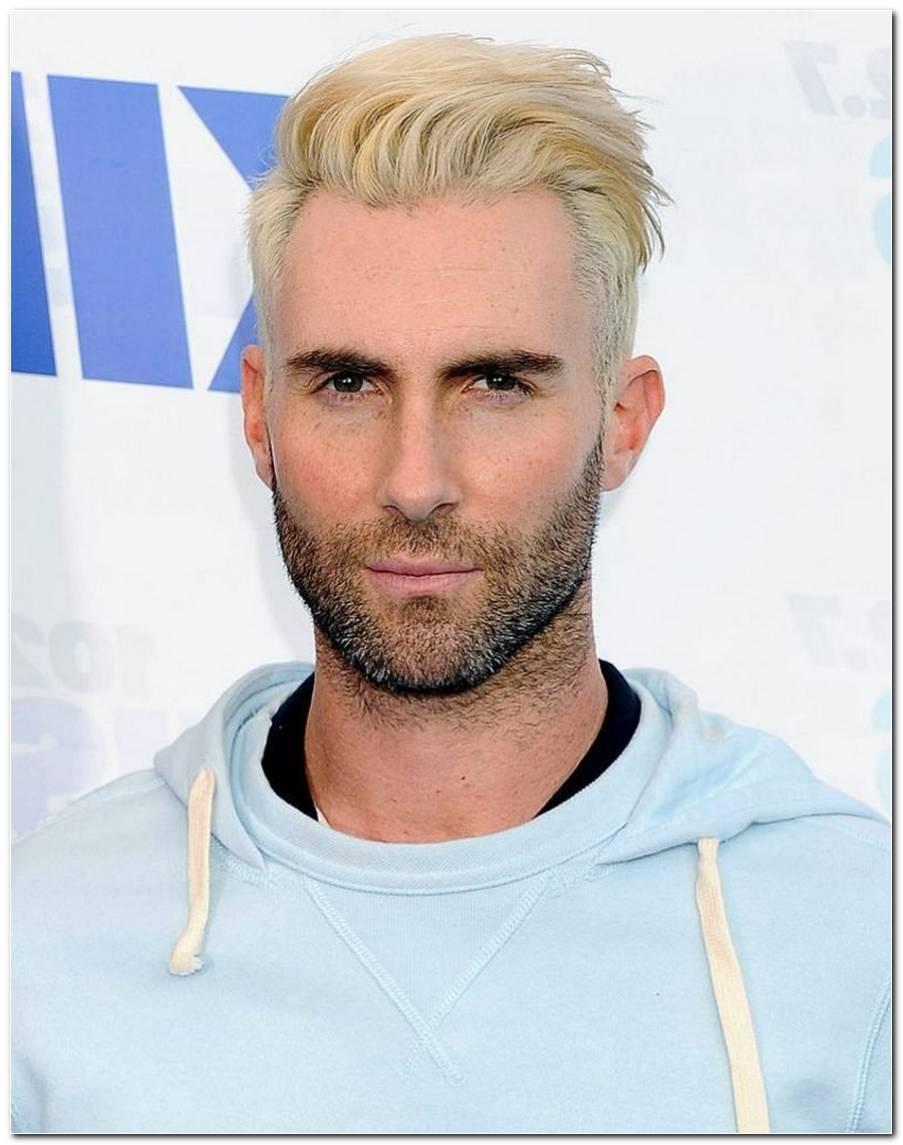 Frisur Blond Mittellang Mann