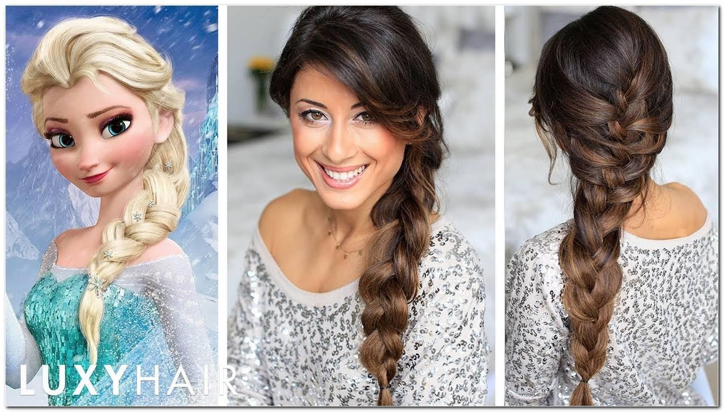 Frisur Elsa Frozen