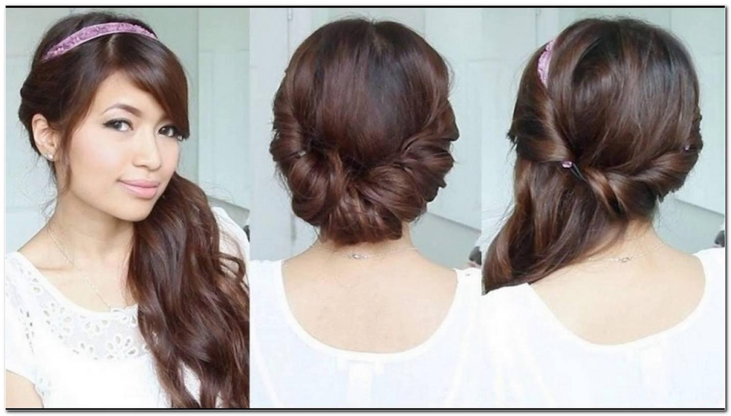 Frisur Haare Seitlich Eindrehen
