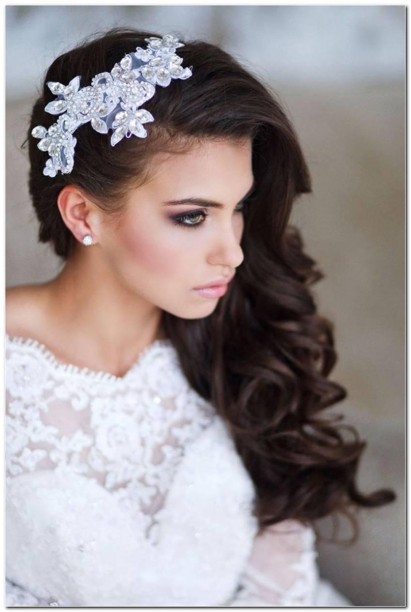Frisur Hochzeit Seitlich