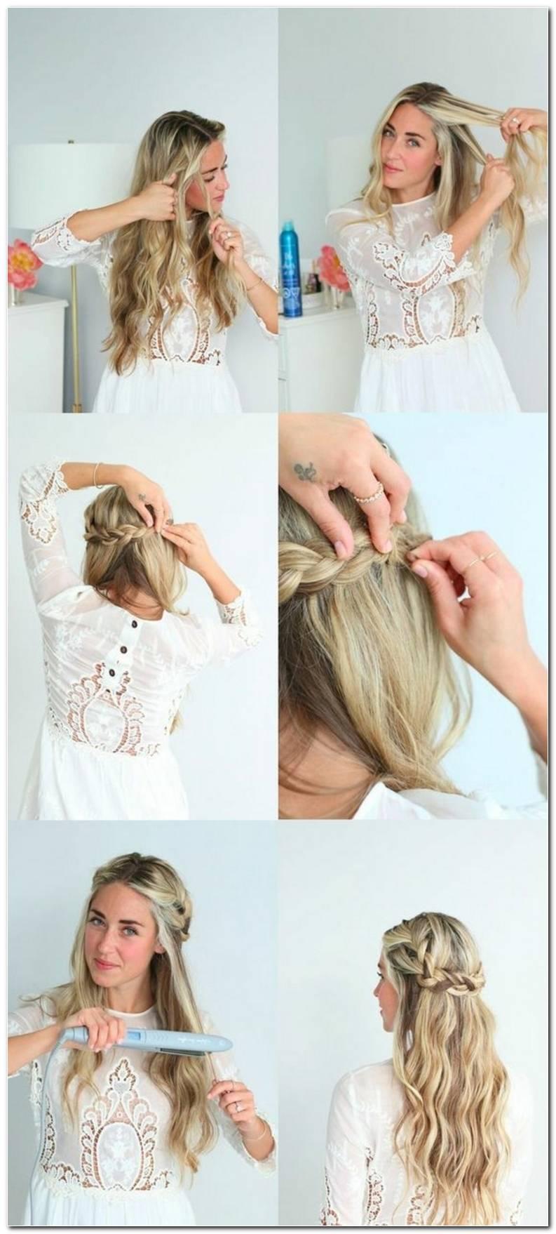 Frisur Lange Haare Abendkleid