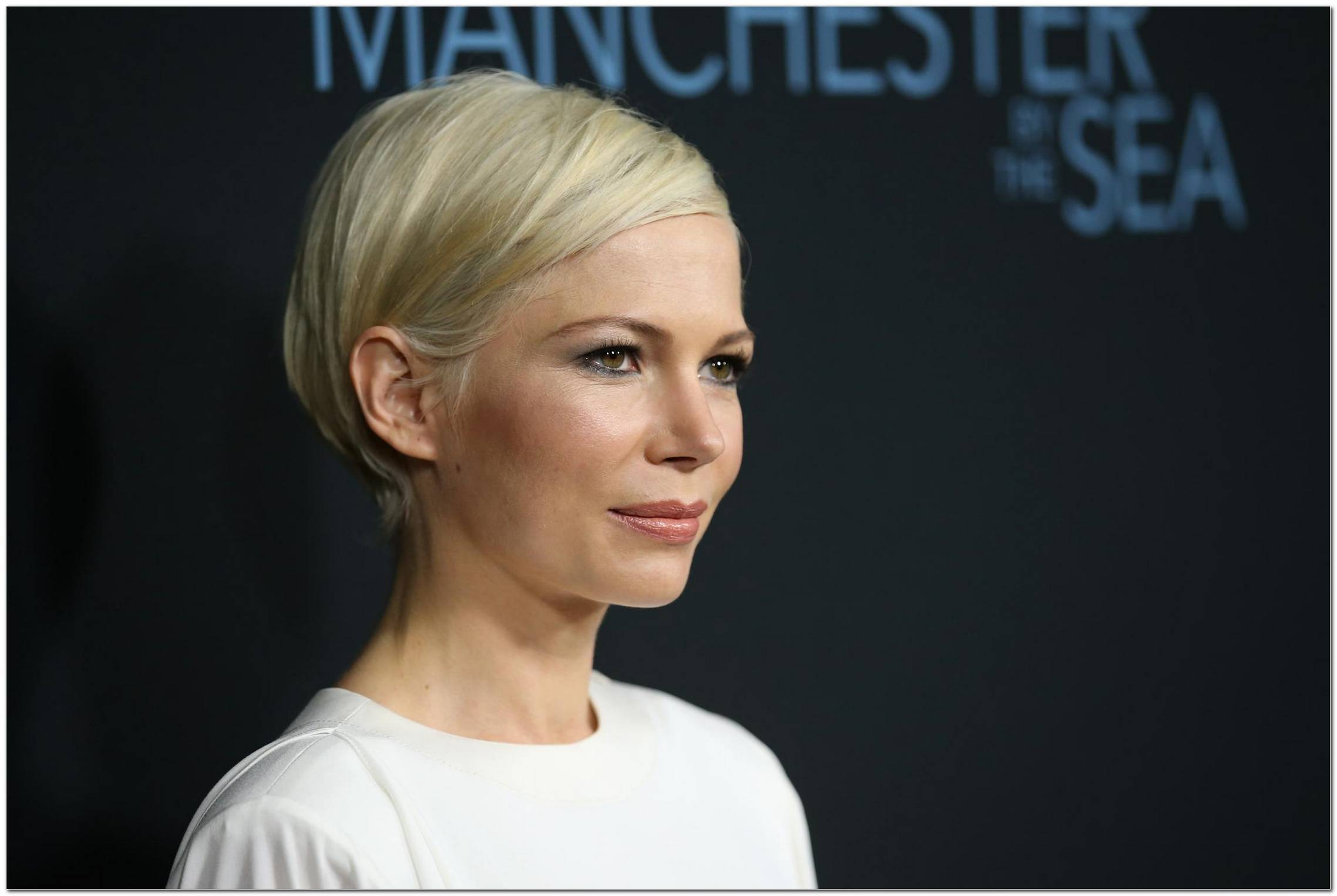 Frisur Michelle Williams 2017