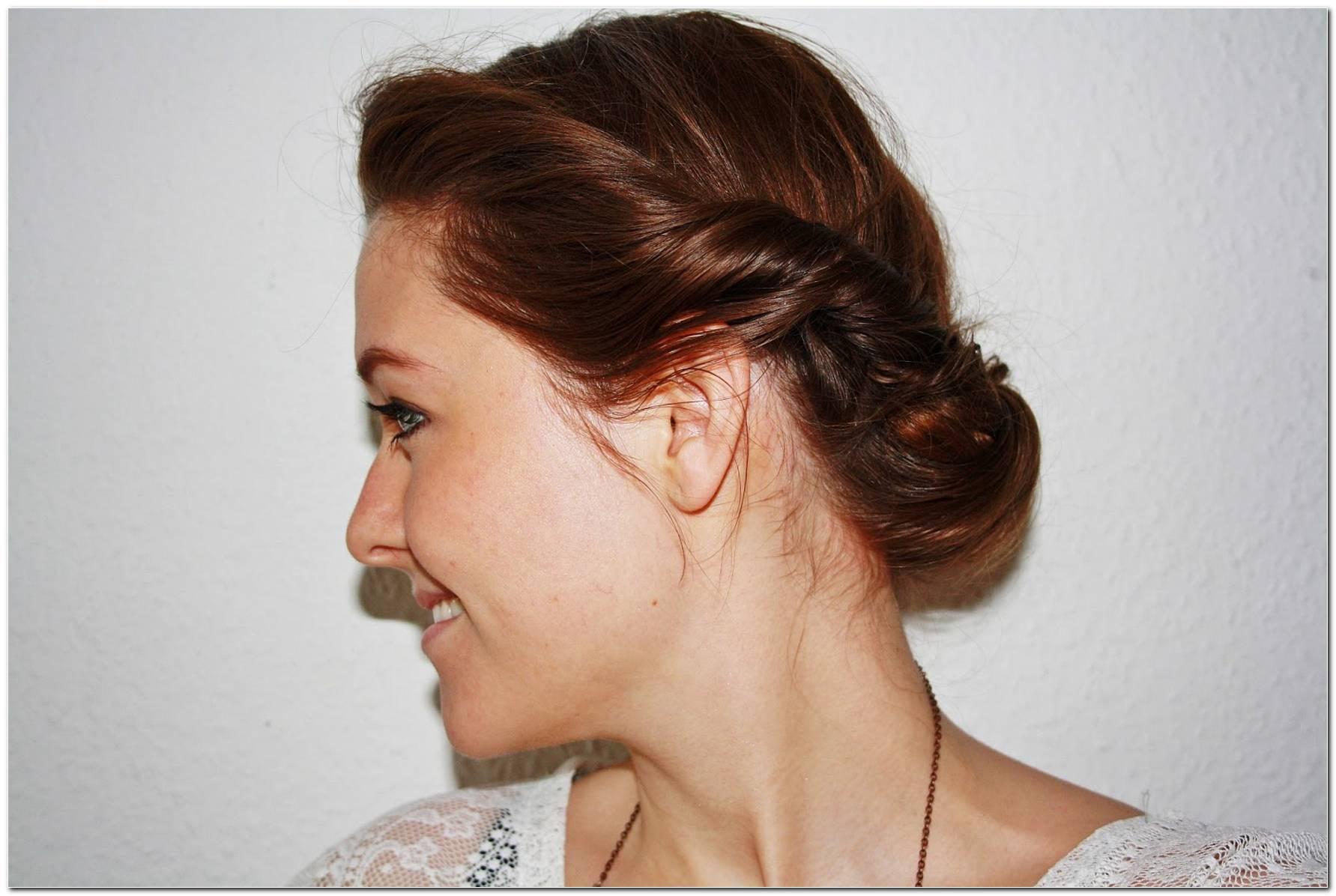 Frisur Mit Eingedrehten Haaren
