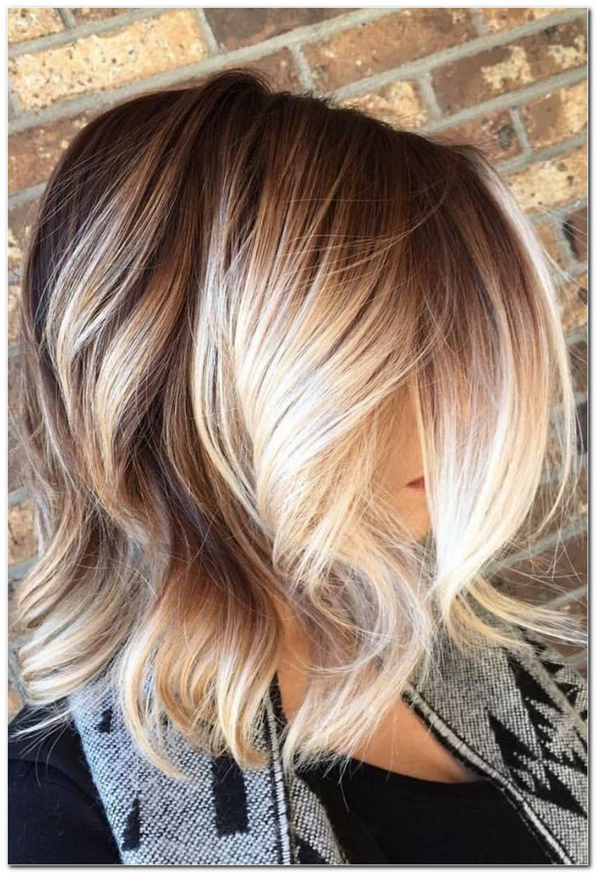 Frisur Ombre Blond