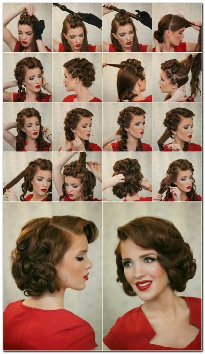 Frisuren 50er Jahre Kurze Haare
