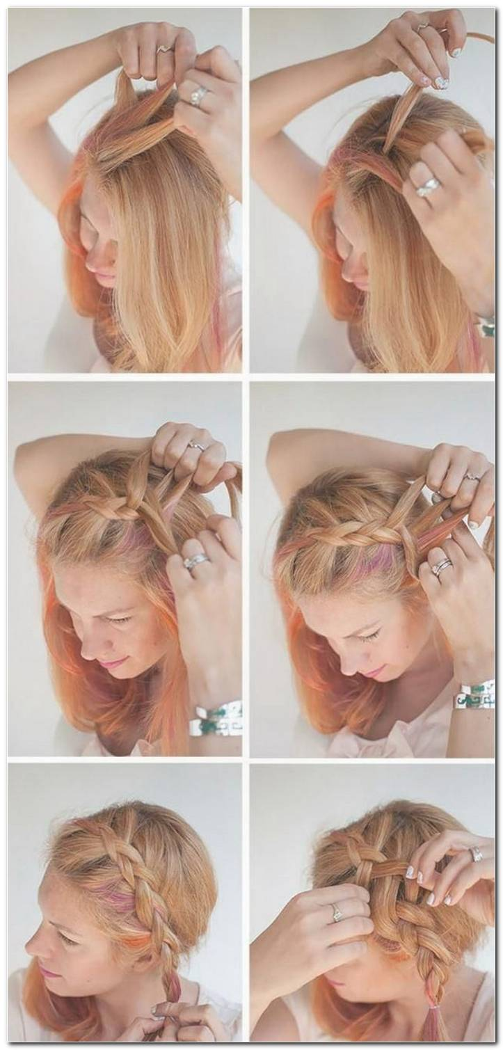 Frisuren Anleitung Kurze Haare