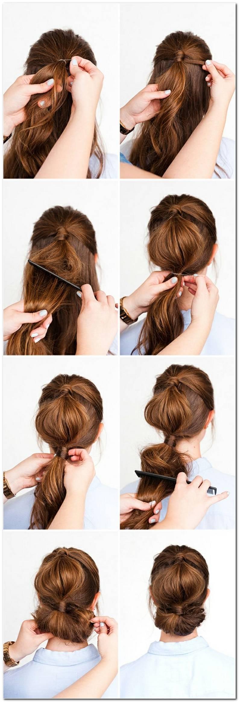 Frisuren Anleitung Mit Bildern