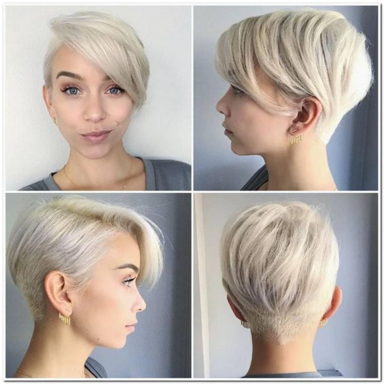 Frisuren Blond Kurz Damen Bilder