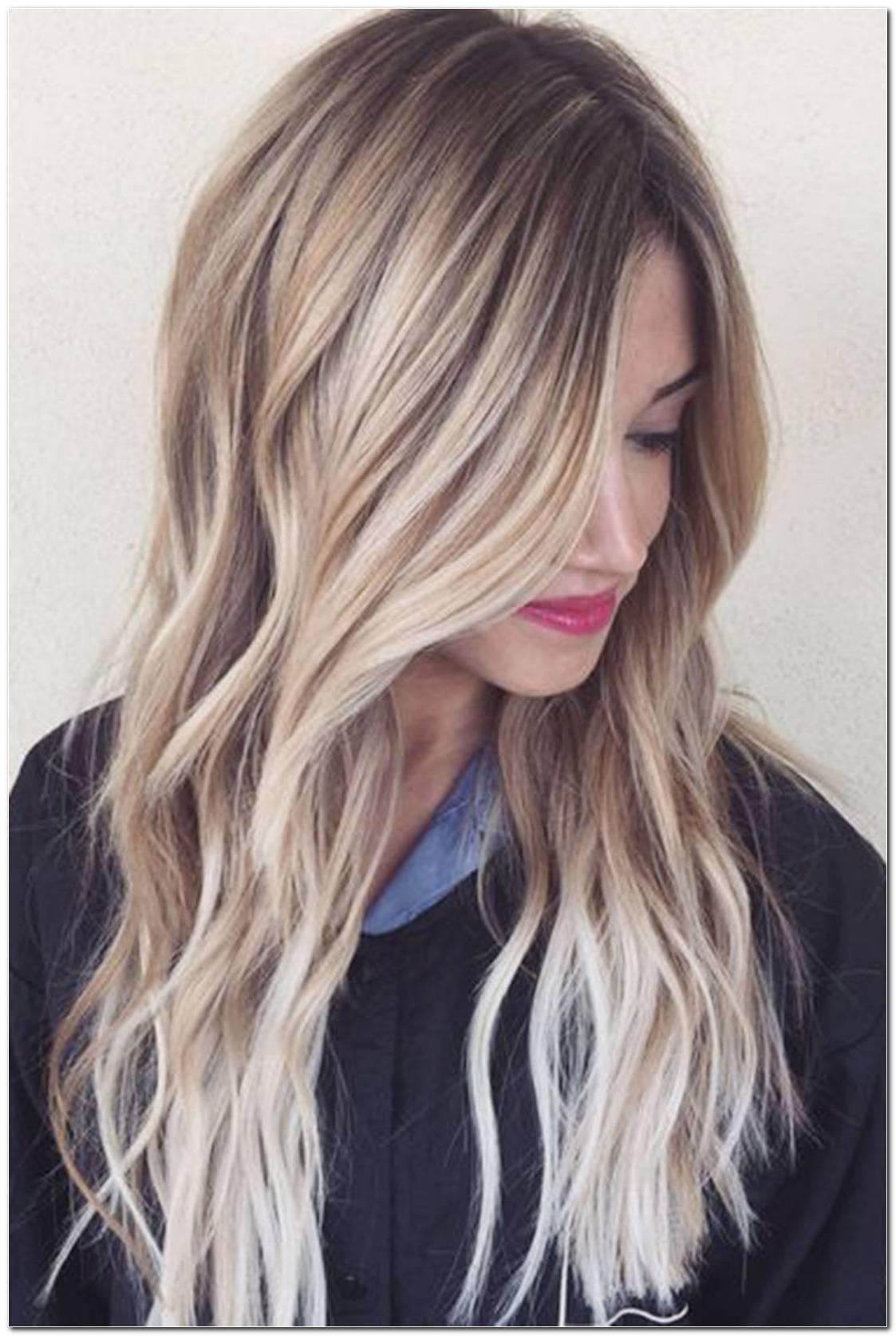 Frisuren Blonde SträHnen