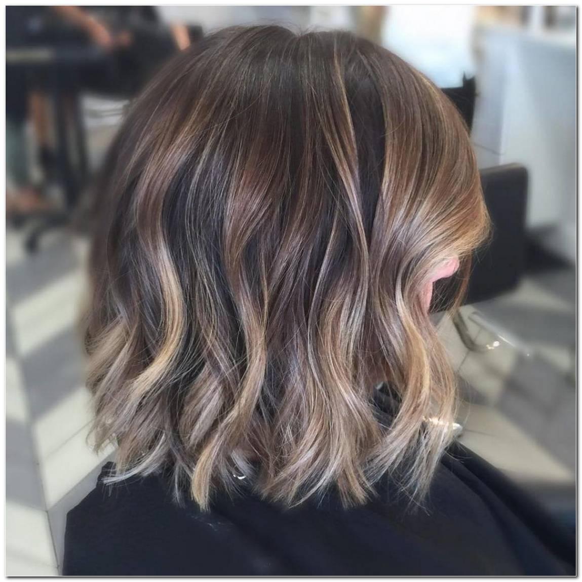 Frisuren Dunkle Haare Mittellang