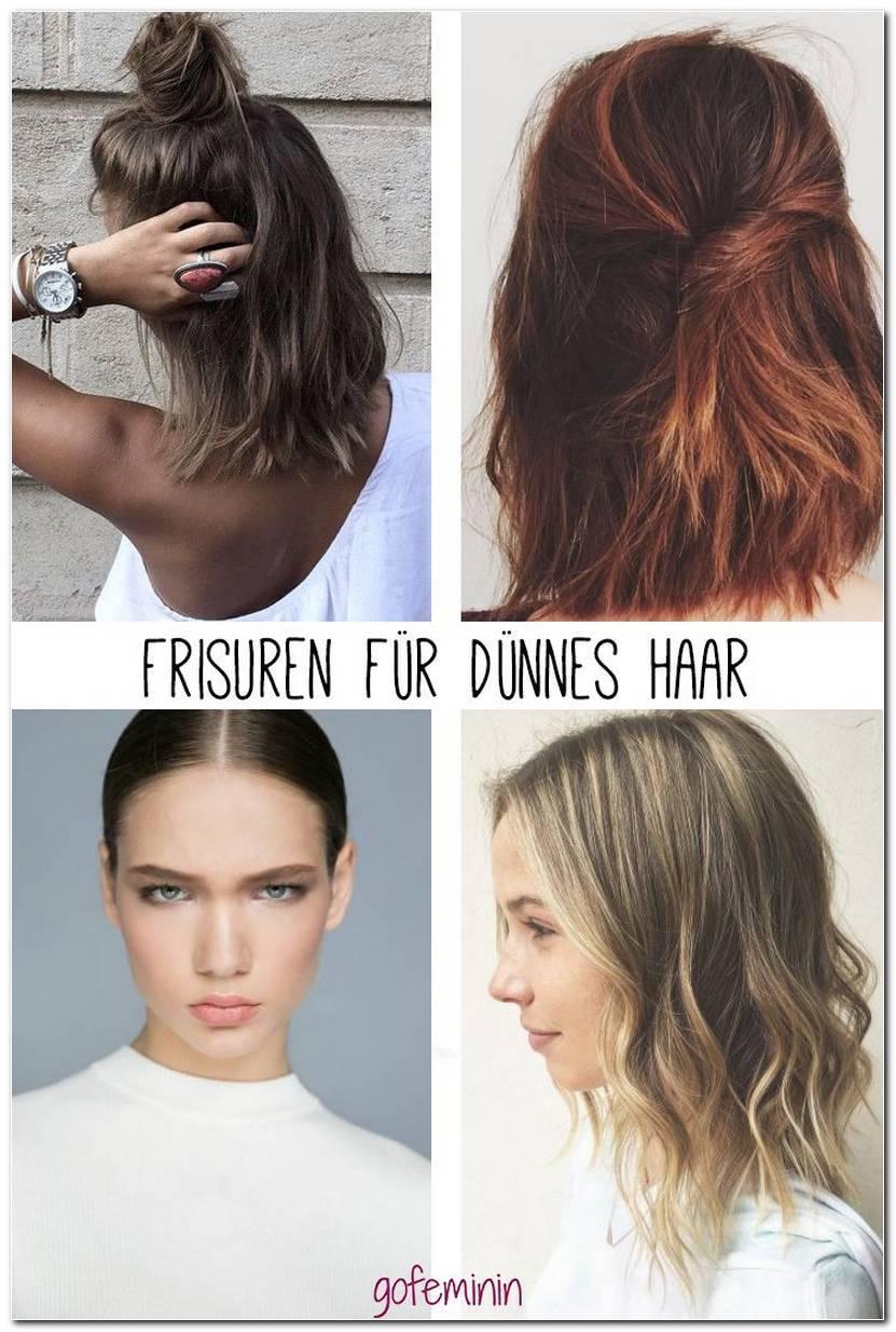 Frisuren FüR DüNnes Haar MäDchen