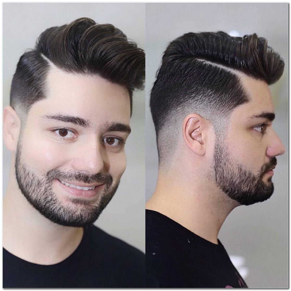 Frisuren F%C3%BCR Runde Gesichter Mann
