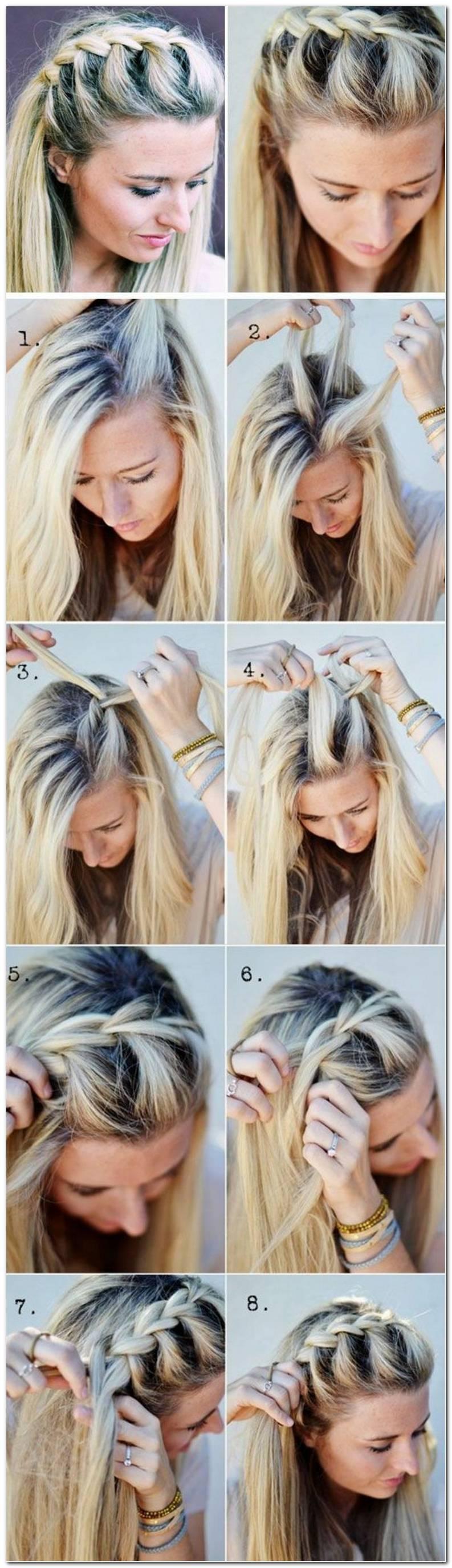 Frisuren Flechten Einfach