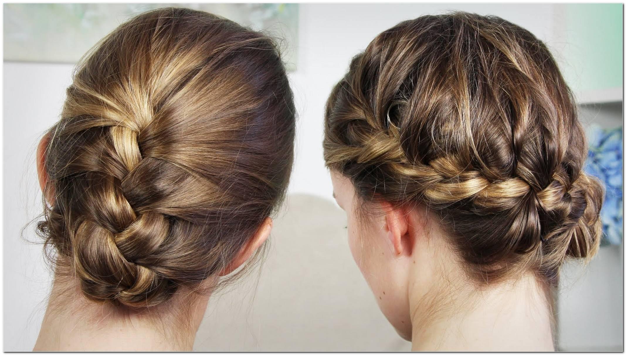 Frisuren Flechten Mittellang