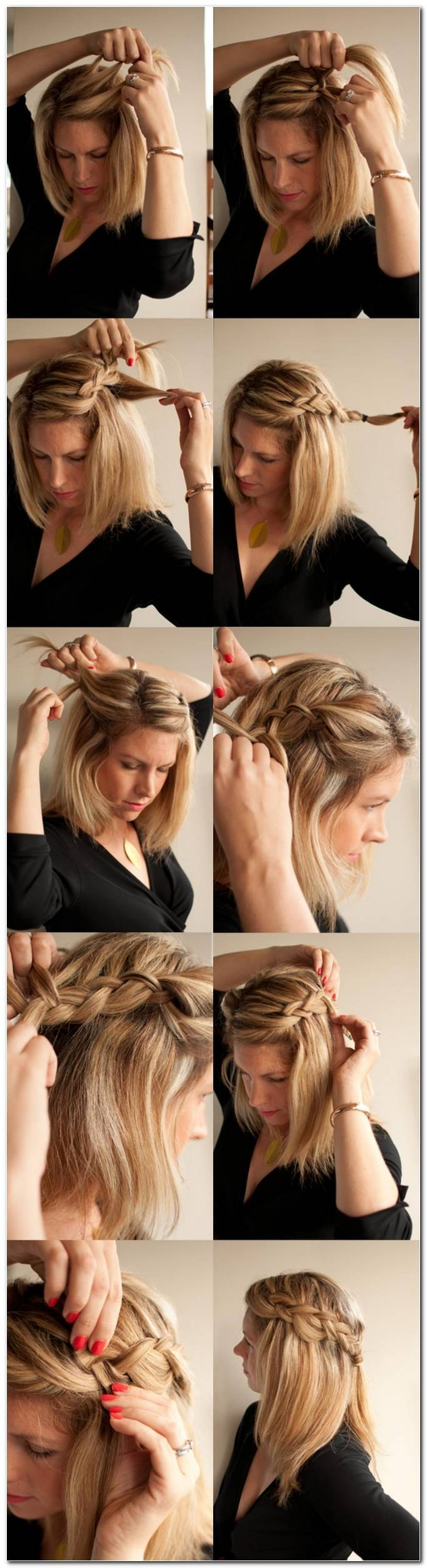 Frisuren Frauen Alltag