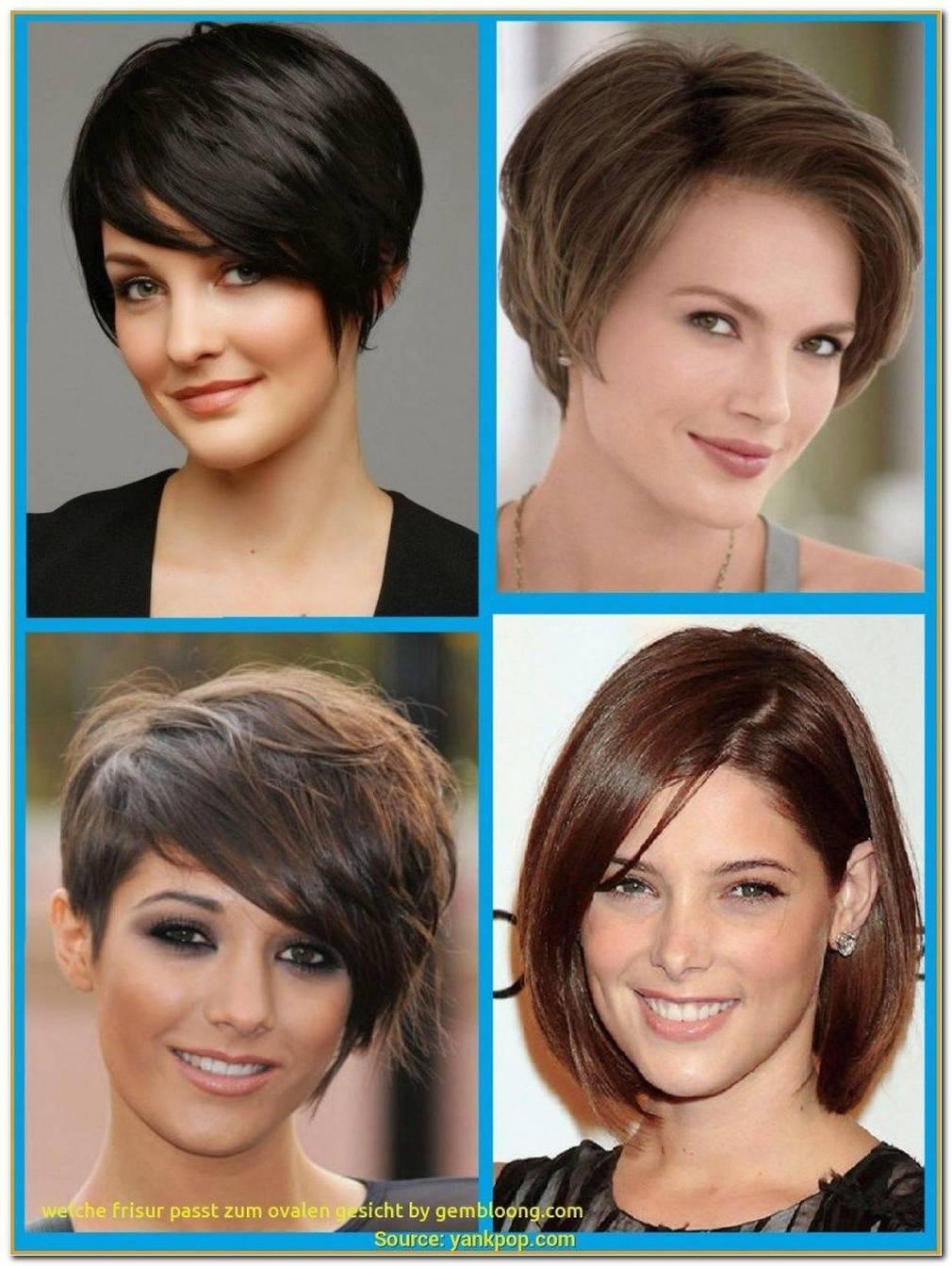 Frisuren Frauen Kurz Ovales Gesicht