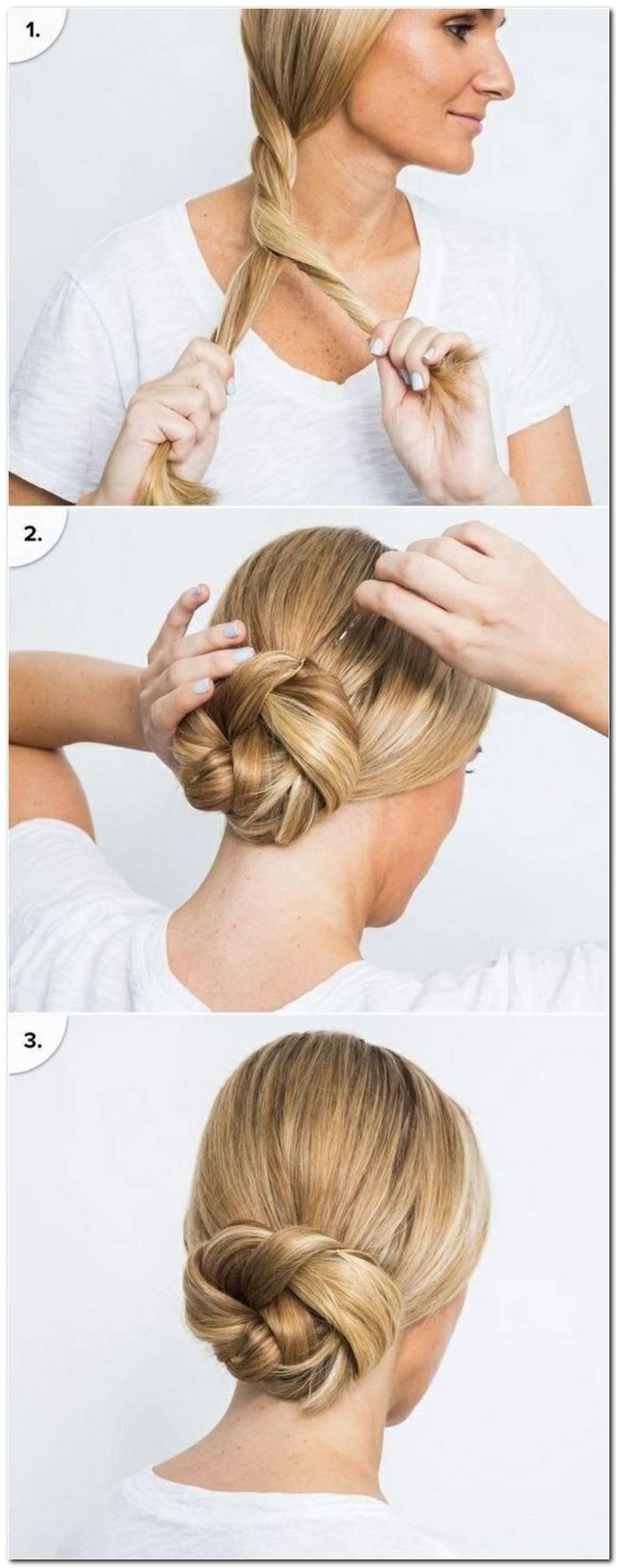 Frisuren Frauen Mittellang Hochstecken