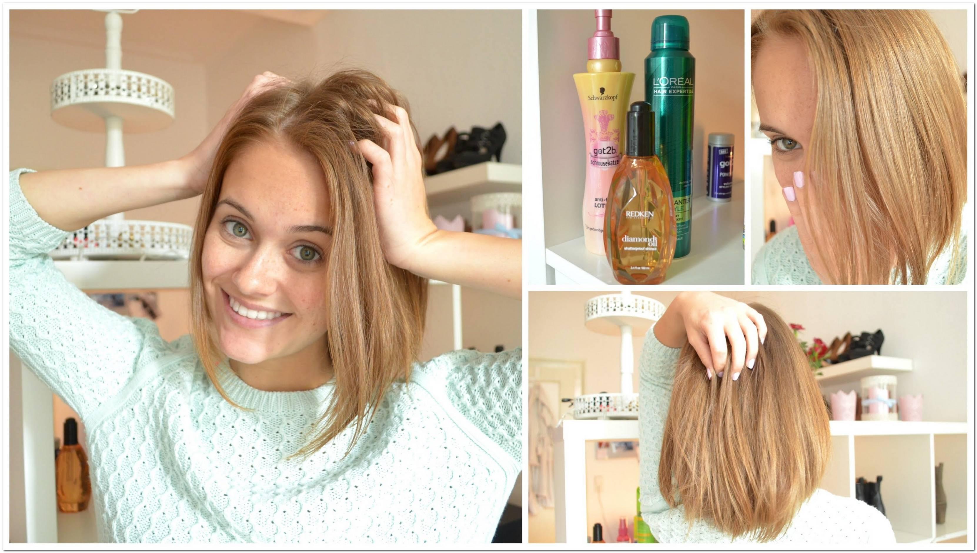 Frisuren Gleich Lange Haare