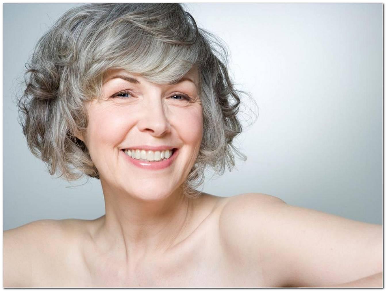 Frisuren Graue Haare Mittellang