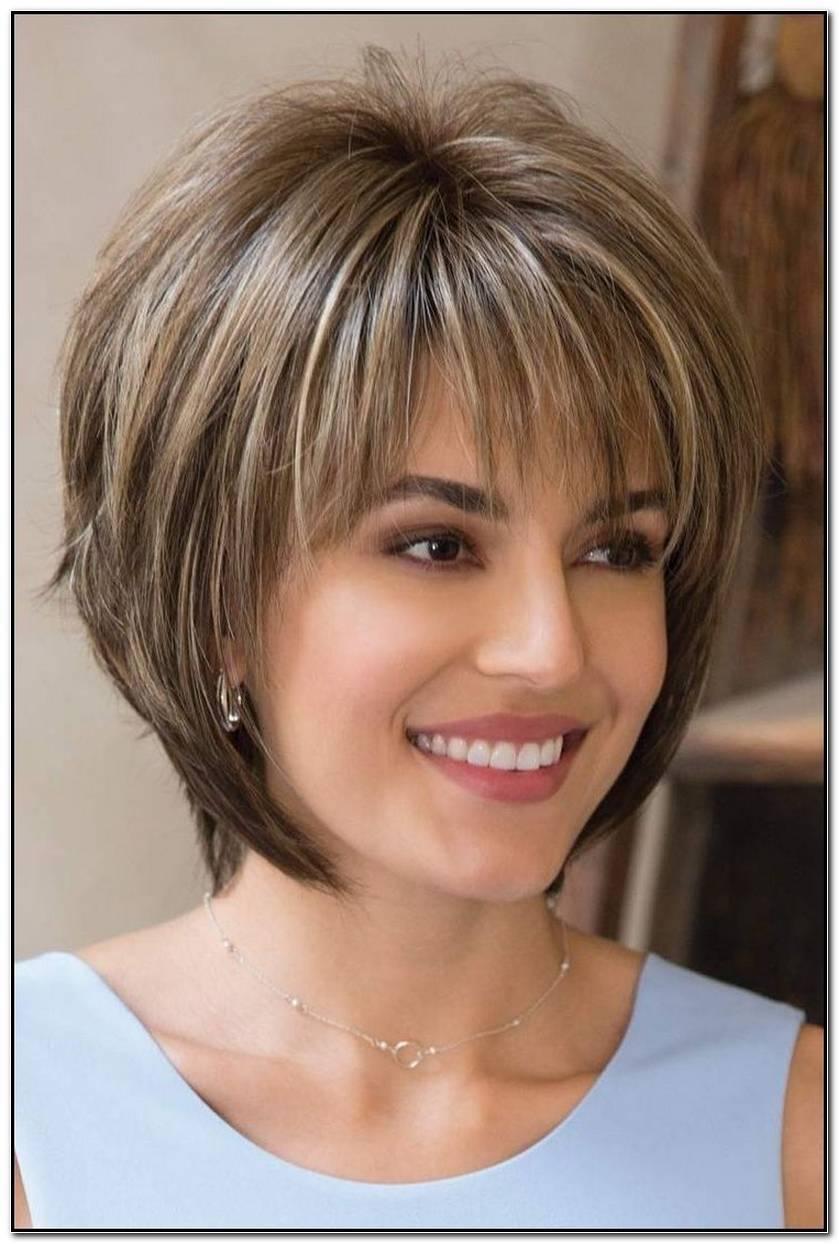 Frisuren Halblang Gestuft