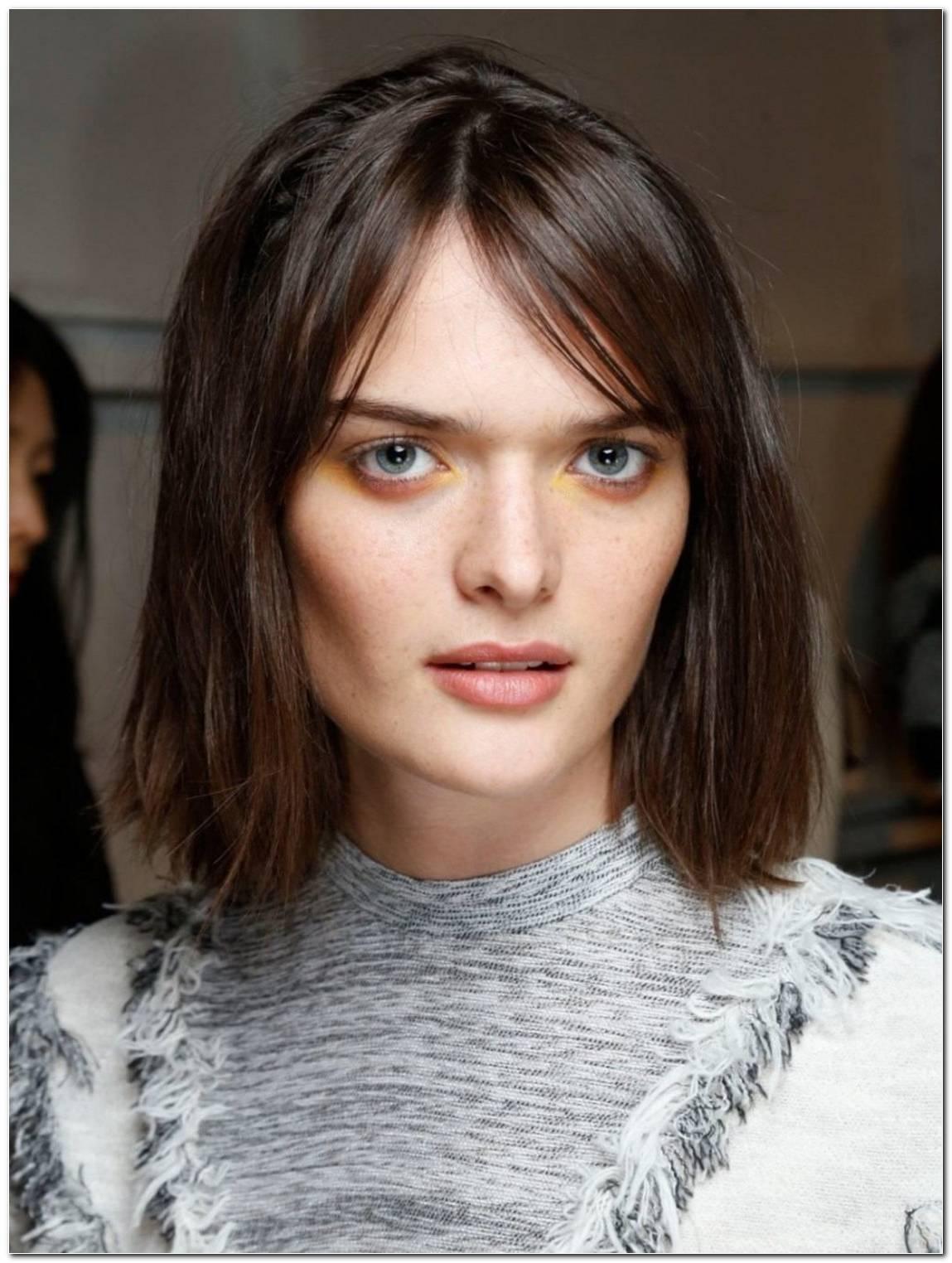 Frisuren Halblang Volles Haar